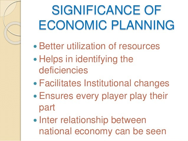 relationship between planning commission and national development council