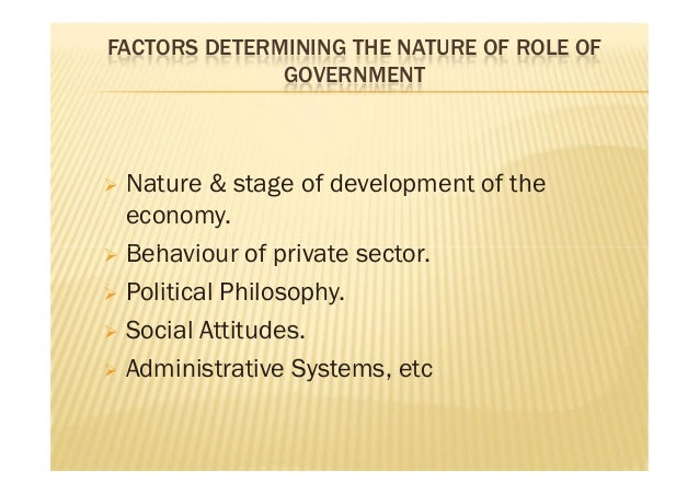 role of government in developing economies The role of government and business japan table of contents although japan's economic development is primarily the product of private entrepreneurship, the government has directly contributed to the nation's prosperity.