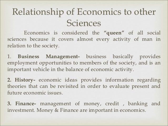 relationship economics and management