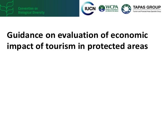 Guidance on evaluation of economic impact of tourism in protected areas