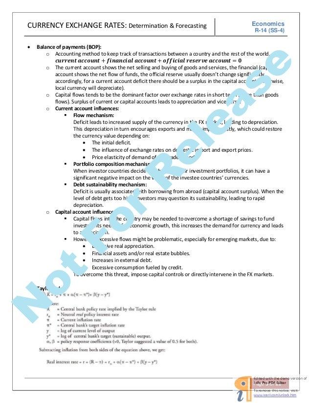 cfa economics Cfa level 1 exam guide cfa level 1 exam guide  economics, quantitative methods, asset valuation,  the chartered financial analyst (cfa).