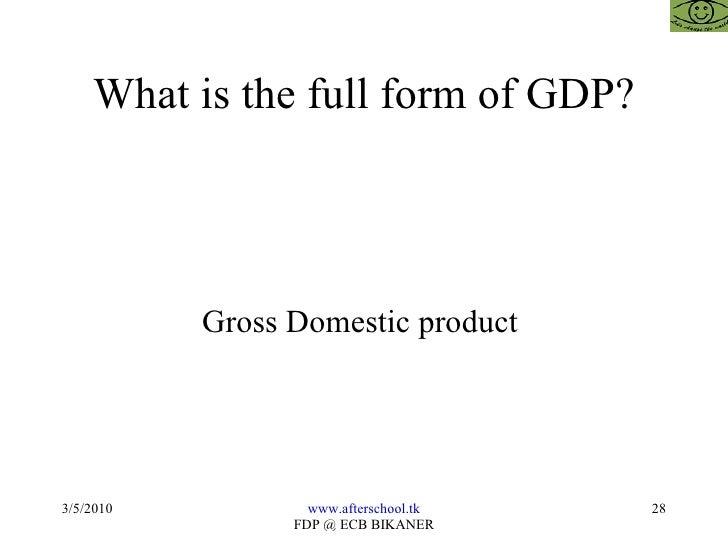 Economics objective question bank