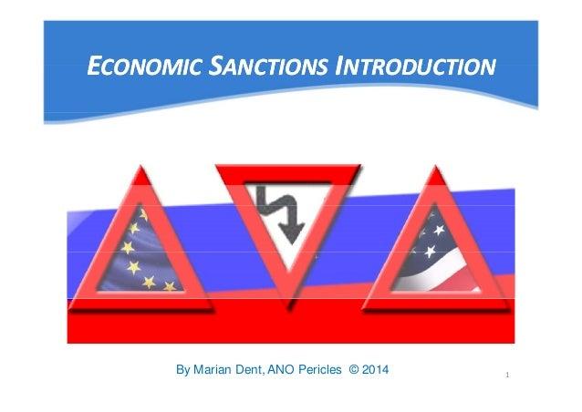 Us economic sanctions