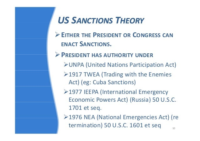a criticism of the use and effectiveness of economic sanctions Dealing with tyranny: international sanctions and the survival of authoritarian joseph wright pennsylvania state university this paper examines whether economic sanctions destabilize authoritar-ian rulers some of the most recent empirical studies on sanctions effectiveness nd.