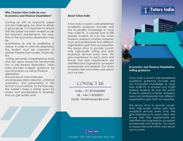 Dissertation in financial economics