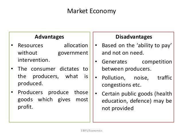 Essay market economy