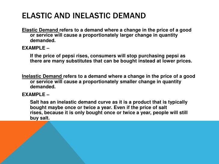 price elasticity of demand definition pdf