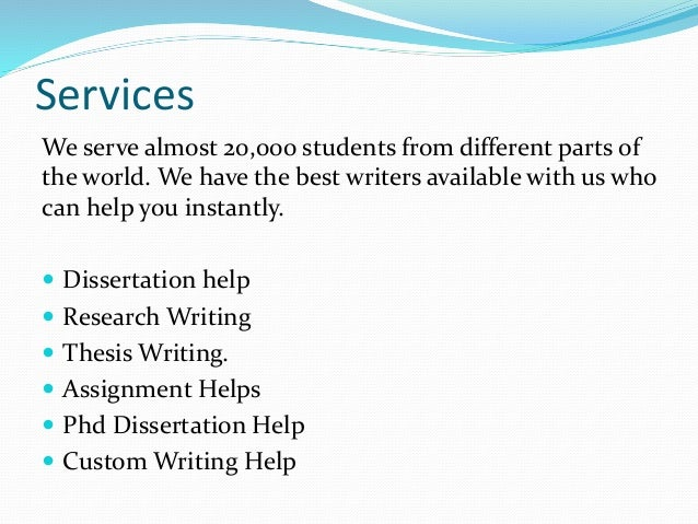 The Best Thesis Writing Services at Write My Thesis in Ireland