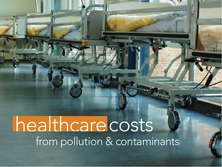 costs from pollution & contaminants