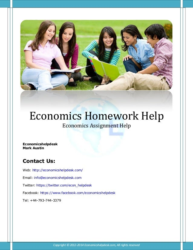 What your dollars can get with our economics assignment help