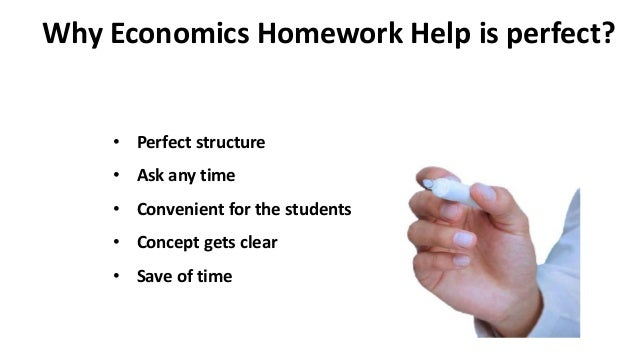 Homework help in economics