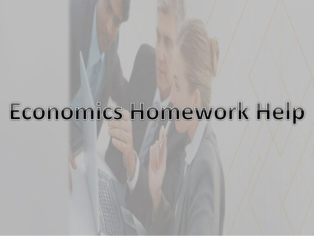 Help with economics essay