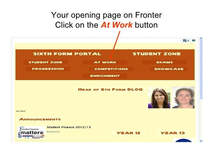 Economics homework on fronter SlideShare