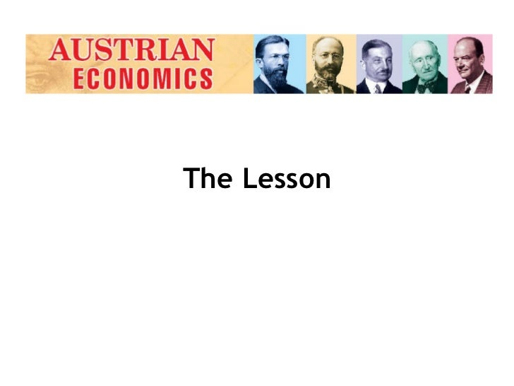 the significance of the lessons in economics The business cycle and important economic measures overview in this lesson, students will become familiar with the three big economic indicators and.