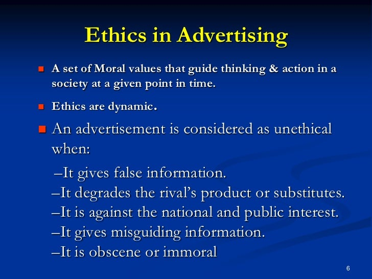how ethical is advertising that appears as publicity Socially responsible marketing and ethics social responsibility in marketing is often discussed with ethics the difference between the two is that what's considered ethical in terms of business, society and individually may not be the same thing––nor do all business actions necessarily have to be socially responsible in order to be considered.