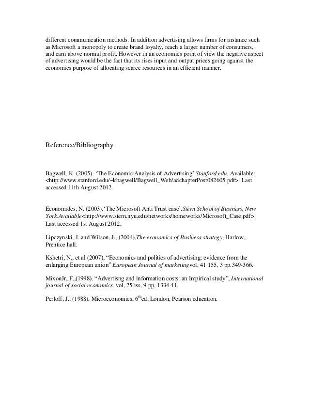 compare contrast essay ads