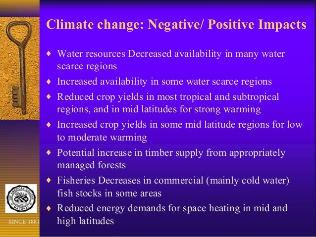 the negative impact of humanity on the climate and the need to change it Read about some of the impacts of climate change in climate climate change presents new compared to human systems rates of climate change.