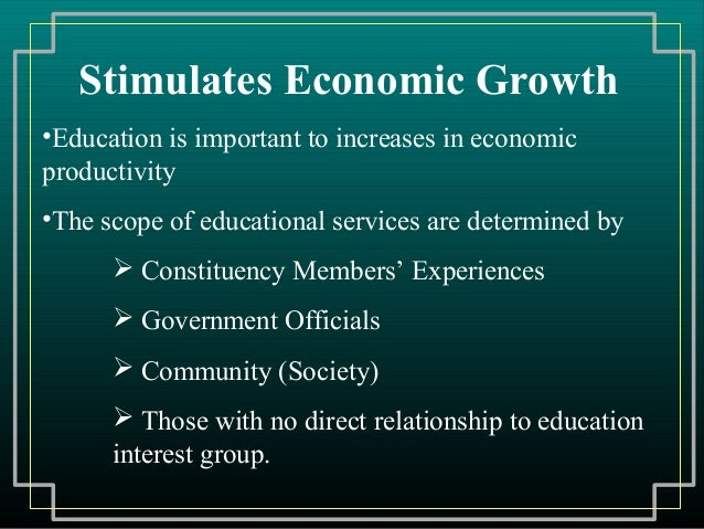 social security public education and the growth inequality relationship