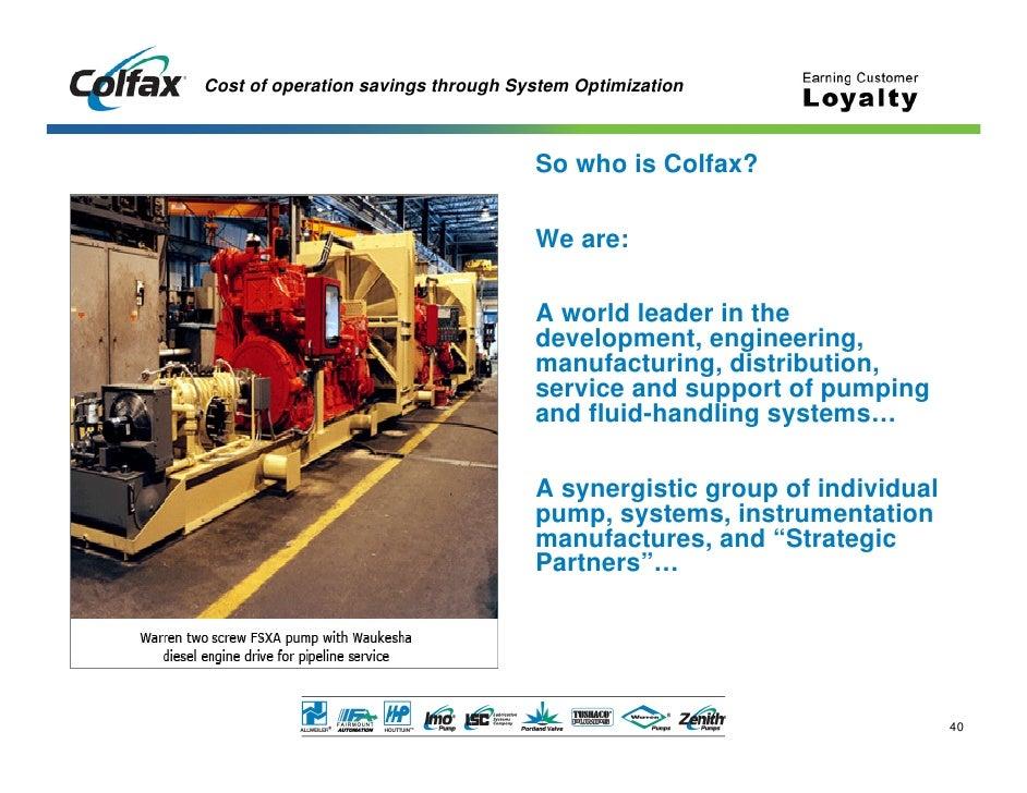 Economics Of System Optimization Colfax