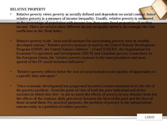 an overview of an absolute poverty by world bank president robert mcnamara President of world bank:  robert mcnamara (april 1968  in masters of illusion: the world bank and the poverty of nations (1996),.