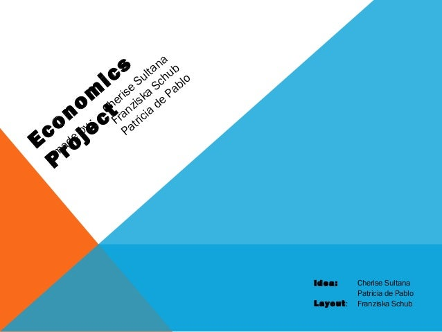 Module 5 economics project