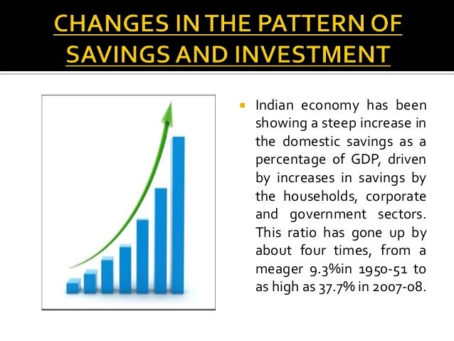 saving and investment rate in india