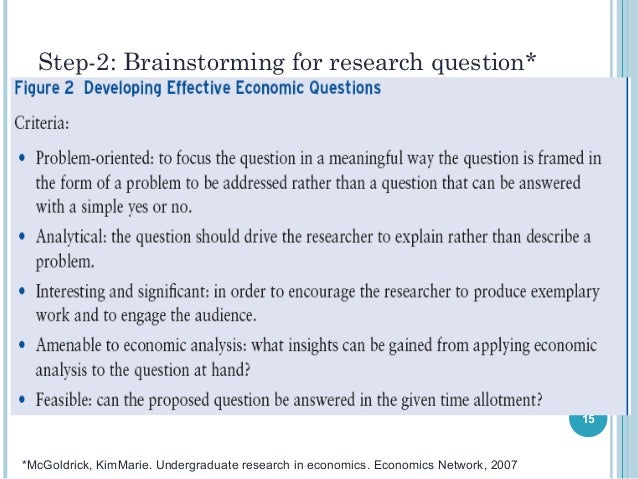 writing an economics research paper You can get a good economics research paper writteb by a professional writer specialized in economics to ensure relevance and high quality of the piece.