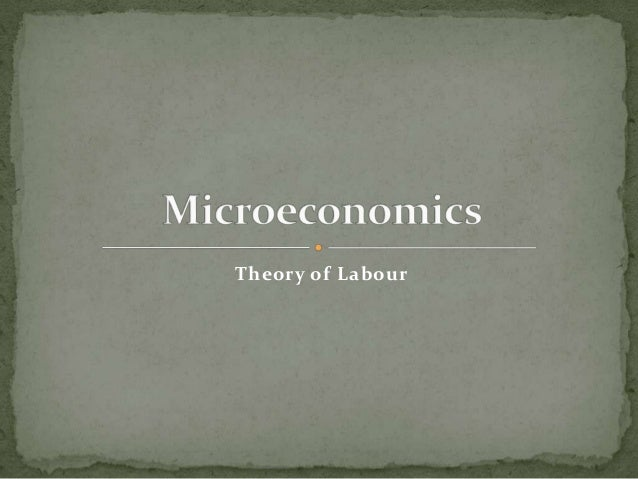 Theory of Labour
