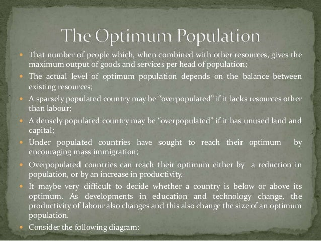 countries with optimum population New index ranks countries according to the strains their population is placing on resources  top 10: the world's most overpopulated countries   the index was compiled by the optimum population trust,.