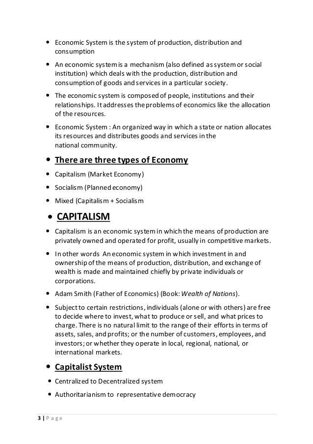 Economics system.pdf By.Milan Kagarana Slide 3