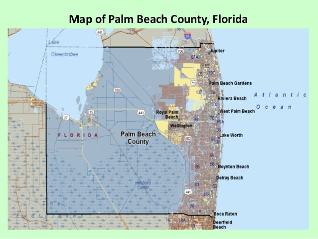 Map Of Palm Beach County Florida.Economic Contributions Of Agriculture Natural Resources And Food Ind