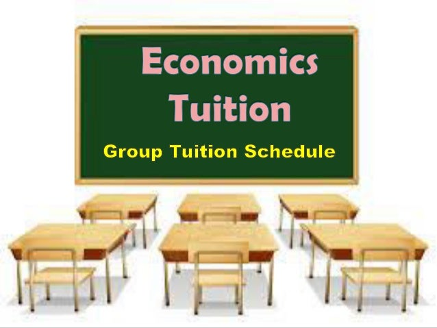 GROUP TUITION SCHEDULE (FOR YEAR 2017)