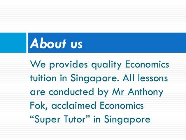 Economics Tuition Slide 2