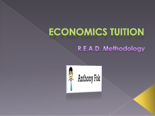 Real world application of Economics concepts, with special focus on the Singapore Economy.