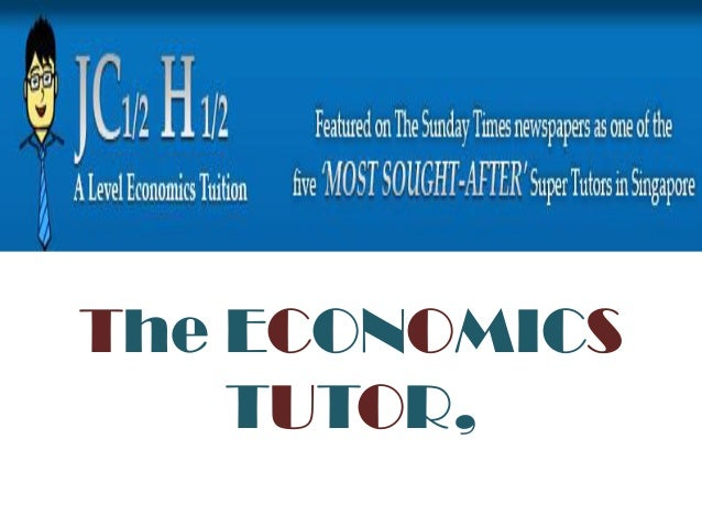 Find Economics tutor online - Economics classes and lessons