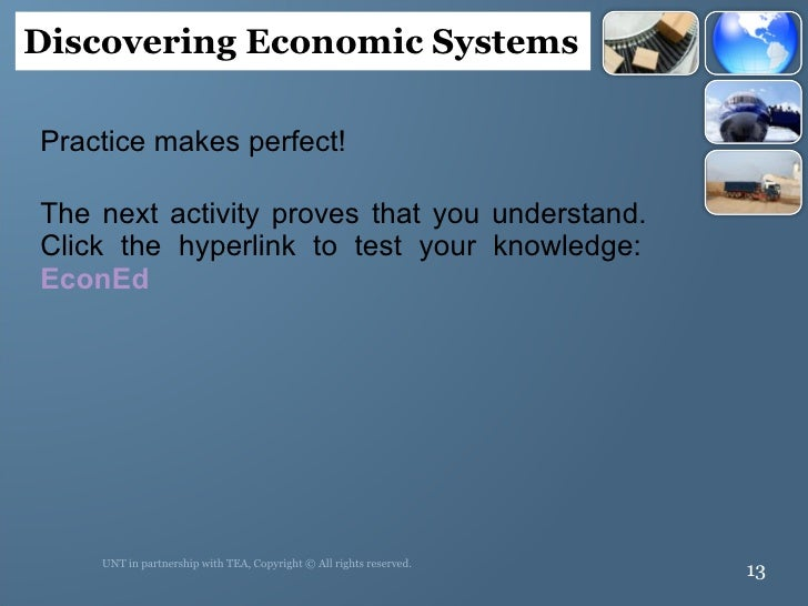 <ul><li>Practice makes perfect!  </li></ul><ul><li>The next activity proves that you understand.  Click the hyperlink to t...