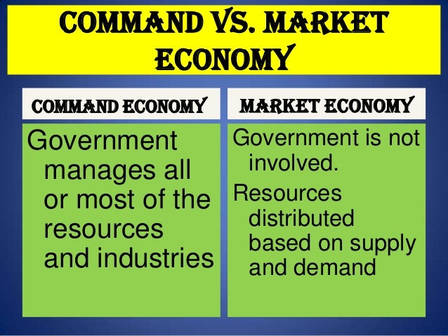 market and command economy