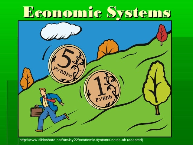 Economic Systemshttp://www.slideshare.net/ansley22/economic-systems-notes-ab (adapted)