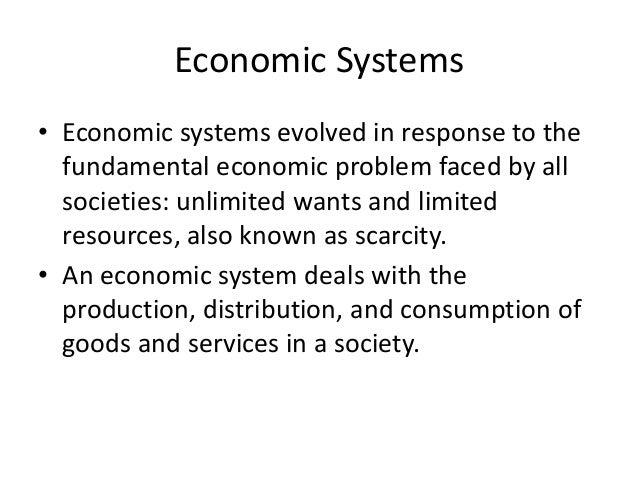 economic goals economic systems and economic goals