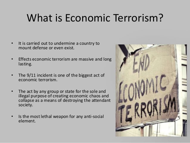 economic effects of terrorism Recent terrorist acts, in particular the 9-11 attacks in 2001, have created  disruptions in the global economy the short-term impact had been felt in the  global.