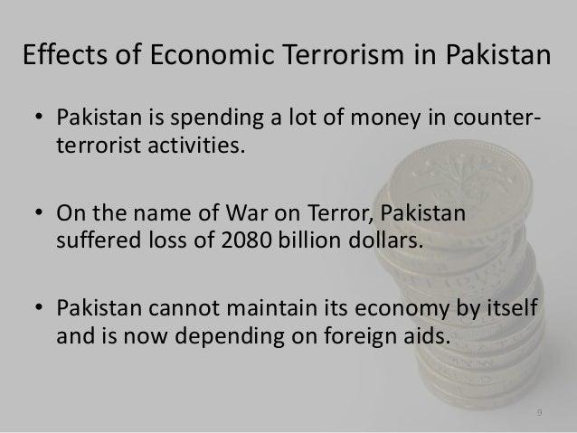 Economic impact of terrorism essay