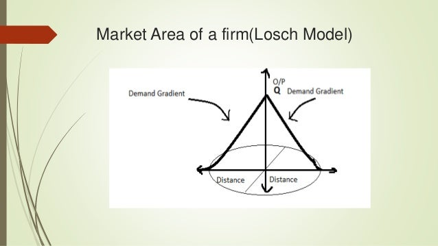 losch theory of industrial location pdf