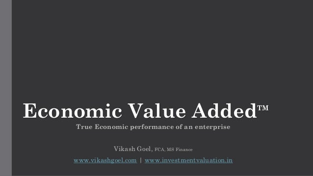economic value added eva finance performance. Black Bedroom Furniture Sets. Home Design Ideas
