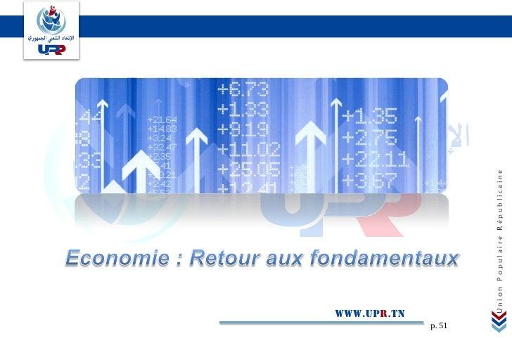 www.upr.tnp. 51          Union Populaire Républicaine