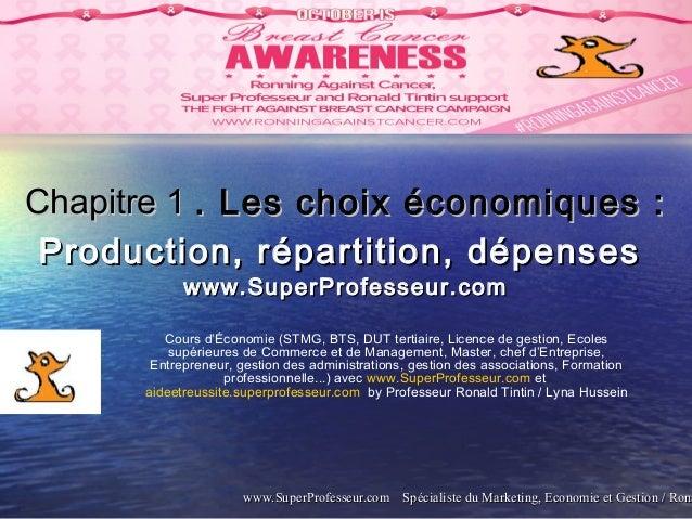 www.SuperProfesseur.com Spécialiste du Marketing, Economie et Gestion / Ronawww.SuperProfesseur.com Spécialiste du Marketi...