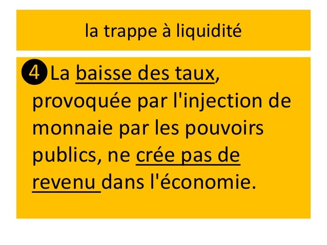 Cette situation est caractéristique d'économies qui ❶ sont entrées dans un cycle déflationniste, ❷taux d'intérêts bas, ❸pr...