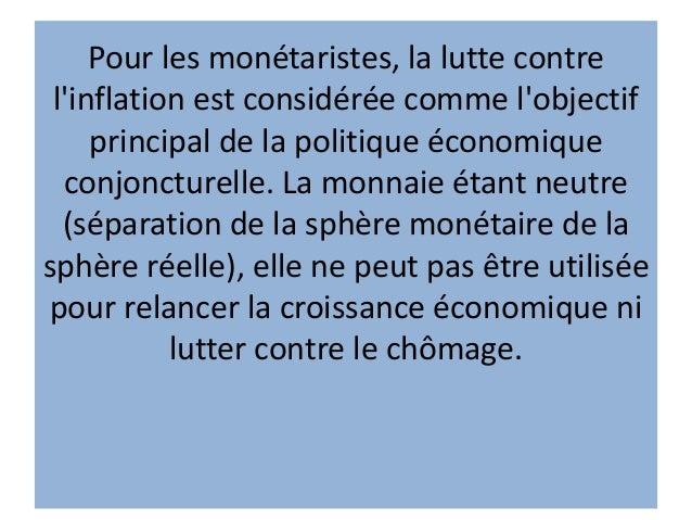 Le modèle IS-LM et la politique monétaire (et budgétaire) chez les néoclassiques Dans la conception classique, le modèle I...