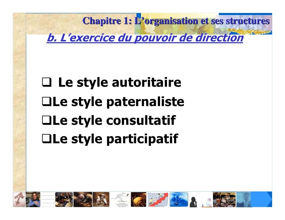 Quatre styles de commandement; 25.