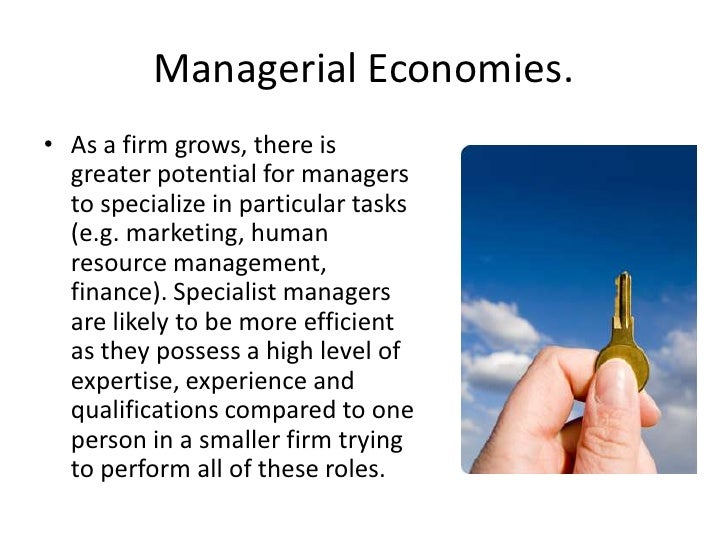 managerial economies of scale