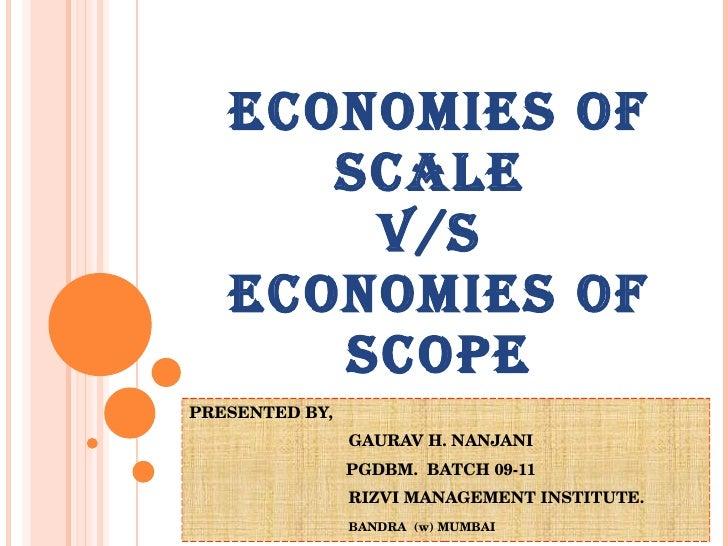 economies of scope - photo #13